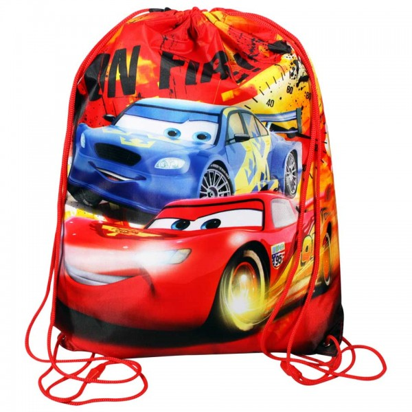 Disney Pixar Cars - On Fire - Zwemtas - Rood - 40x30x5 | Gymtas