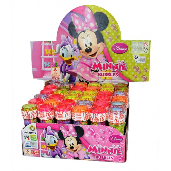 Bellenblaas Disney Minnie Mouse - 60ml