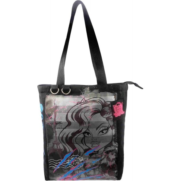 Shopper Monster High - Zwart
