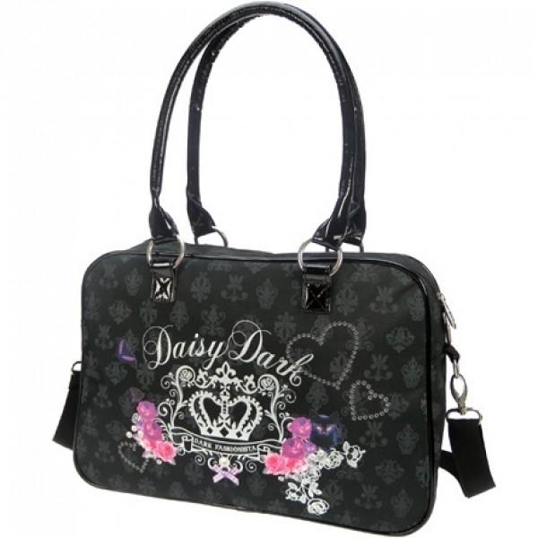 Daisy Dark Handtas - Schoudertas - Zwart | 38x29x13