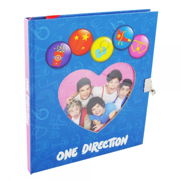 One Direction Dagboek slot/hart S13-500