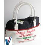Casa Nostra Pizzeria Weekendtas - Wit | 45x34x20