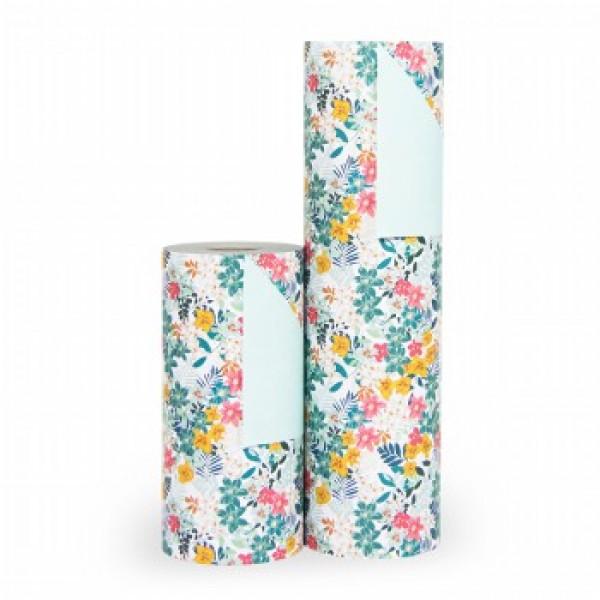 Cadeaupapier Botanic - Rol 30cm - 200m - 80gr