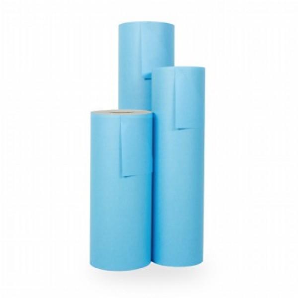 Cadeaupapier Blauw - Rol 50cm - 200m - 70gr
