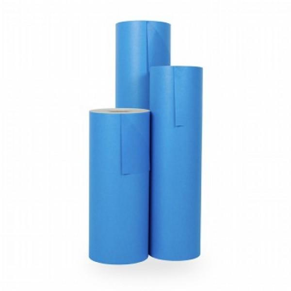 Cadeaupapier Blauw - Rol 30cm - 200m - 70gr