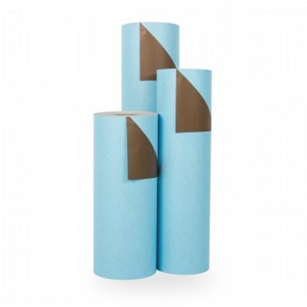 Cadeaupapier Aqua-Koffie - Rol 70cm - 200m - 70gr