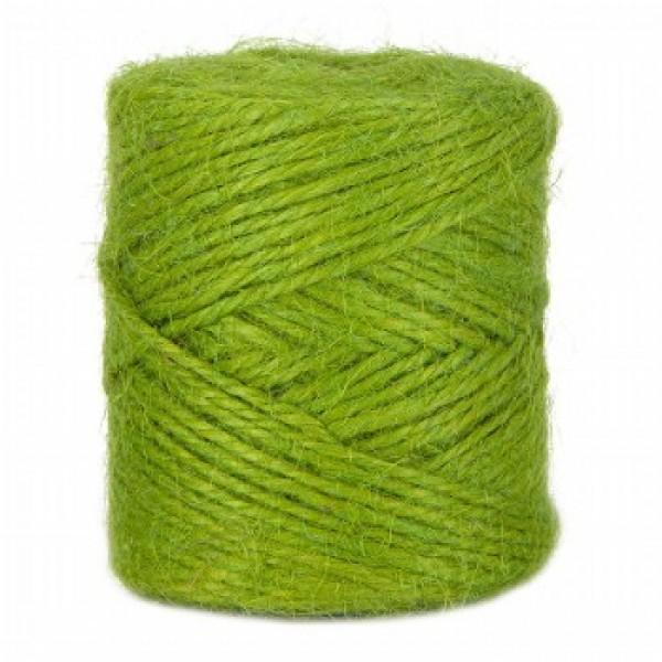 Bol Jute Geschenktouw Groen - 100 gram