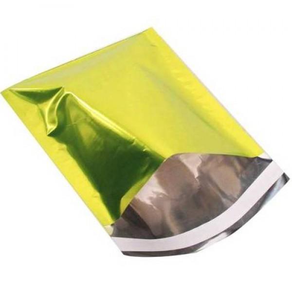Folie zakjes Groen Metallic - 18x23,5cm - 25 stuks