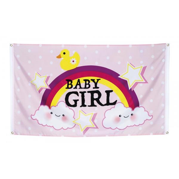 Polyester vlag - Baby meisje - 90x150cm