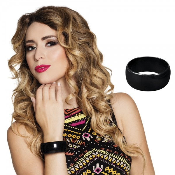 Armband Retro - zwart
