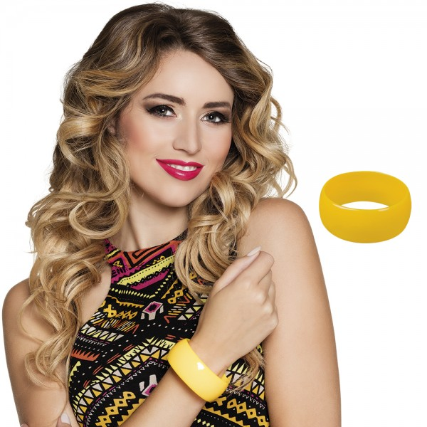Armband Retro - geel