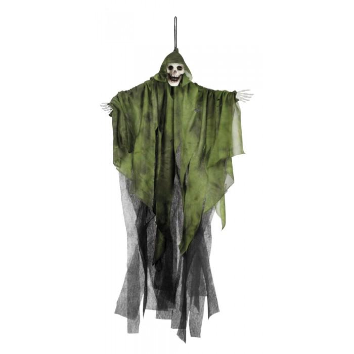 Decoratie schedel spook in 3 kleuren assorti 65cm for Decoratie schedel