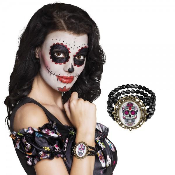 Armband Calavera - Sugar skull