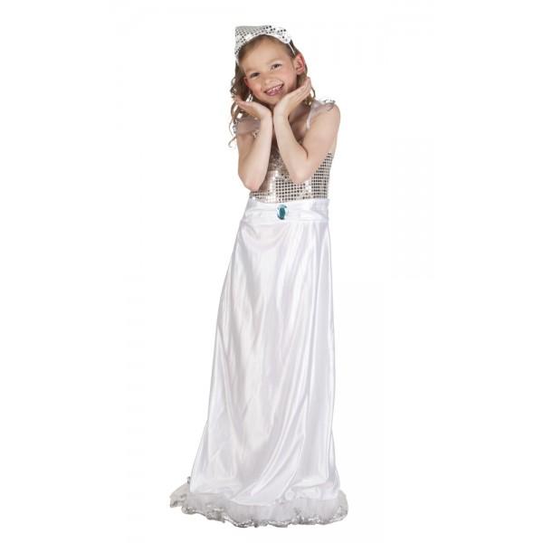 Avond Prinses Kinderkostuum - 7-9 jaar